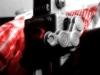 Android Kamera-App Magix CameraMX-Testaufnahme / Red Glow