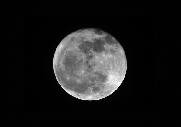 Vollmond 08. Februar 2012 - Bad Moon Rising